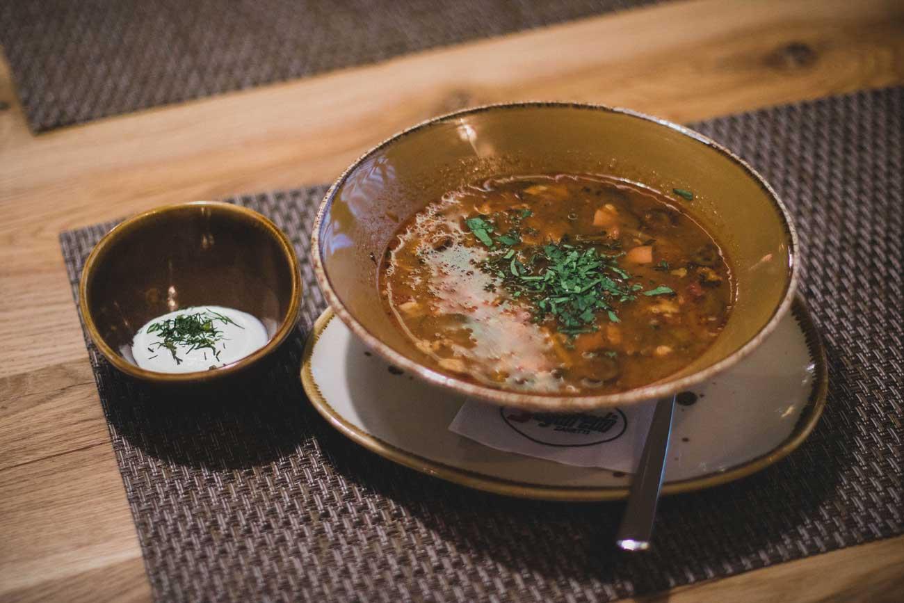 Barley&Beef Soup