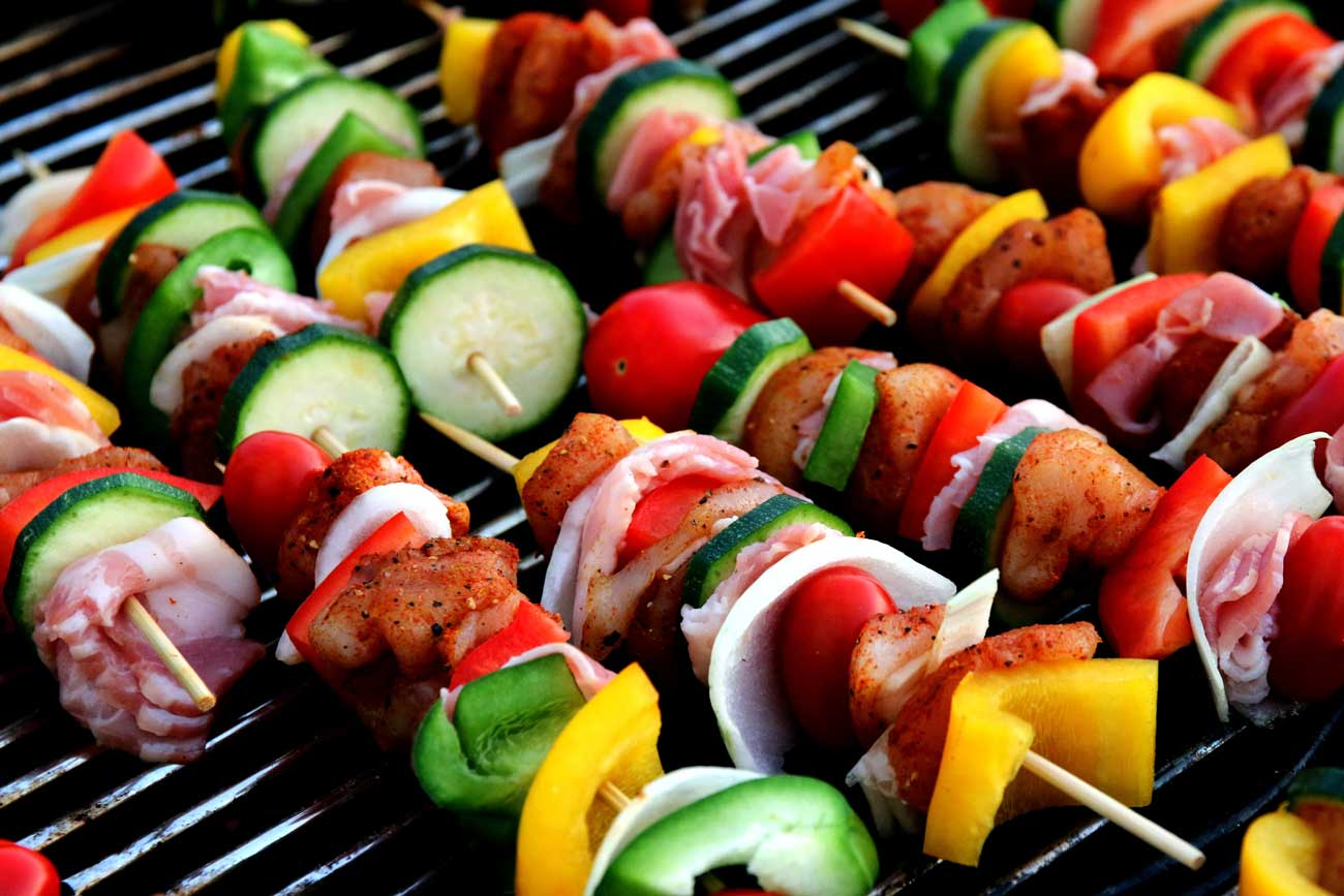 Huguette's Chicken Kebab