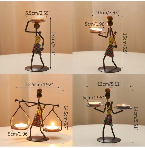 Hot candlestick holder