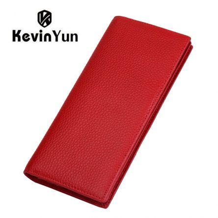KEVIN YUN Designer Fashion genuine leather women wallets