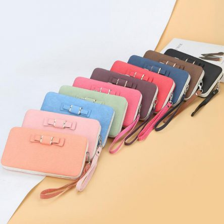 2020 New style snap ladies purse bow wallet fashion ladies purse